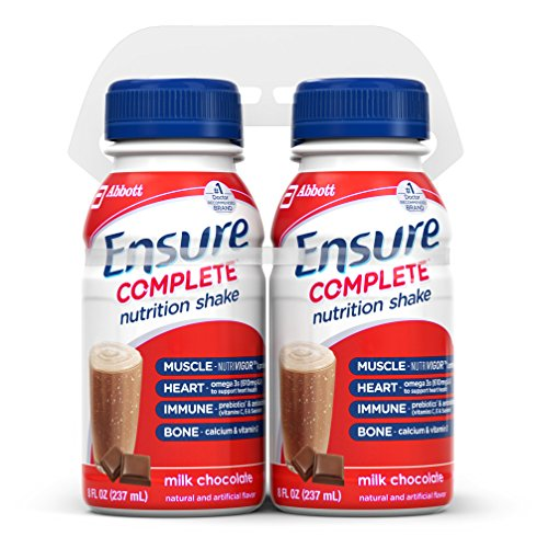 Ensure Complete Nutrition Shake, Milk Chocolate, 8-Ounce, 4 Count (Pack of 4)
