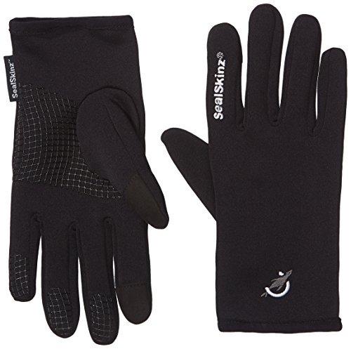 (Sealskinz Stretch Fleece Gloves - Black, X-Large by SealSkinz)
