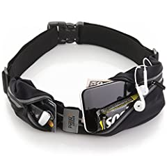 Sport2People fanny pack for running is all you need for your careless runs; it has two zippered and expendable pockets, designed for runners who need their valuables at their fingertips. The larger one is big enough for your phone as it fits ...