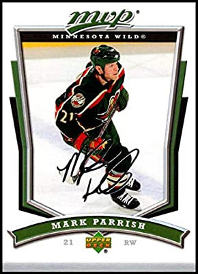 Amazoncom 2007 08 Upper Deck Mvp 289 Mark Parrish Nm Mt Minnesota