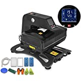 Mophorn Heat Press Pneumatic 3D Sublimation Vacuum Heat Press Multifunctional Transfer Machine for T-Shirt Mug Plate Bottle Phone Cases (Pneumatic 3D Vacuum)