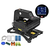 3d mini vacuum - Mophorn Heat Press Pneumatic 3D Sublimation Vacuum Heat Press Multifunctional Transfer Machine for T-Shirt Mug Plate Bottle Phone Cases (Pneumatic 3D Vacuum)