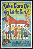 Take Care Of My Little Girl (1951) Original One-Sheet Movie Poster 27x41 Folded Fine Plus Condition JEANNE CRAIN MITZI GAYNOR GAIL DAVIS JEAN PETERS SORORITY LIFE! Directed by JEAN NEGULESCO