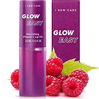 I DEW CARE Glow Easy   Vitamin C Tinted Lip Oil Gloss   Korean Skincare, Vegan, Cruelty-Free, Gluten-Free, Paraben-Free