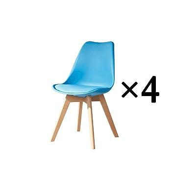 De À Mangerchaise Chaise Bureau Hykiss Simple Salle CBrxoWdeQE
