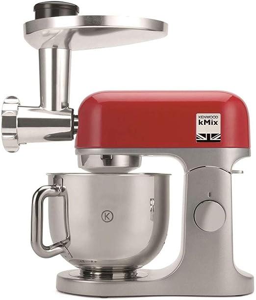 Kenwood Robot Pâtissier KMX855RD kMix Rouge 1000W 5L + Hachoir KAX962ME: Amazon.es: Hogar
