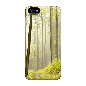 Protection Case For Iphone 5/5s / Case Cover For Iphone(forest In Mist)