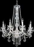 Cheap Schonbek 1305-40H Swarovski Lighting Arlington Chandelier, Silver