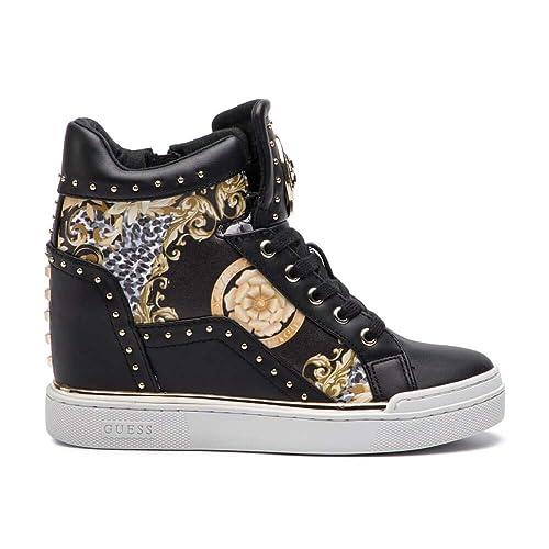 Guess - Zapatillas para Mujer Negro Size: 35 EU