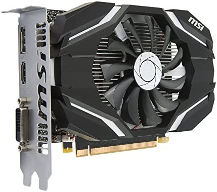 MSI GeForce GTX 1050 Ti 4G OC GeForce GTX 1050 Ti 4GB GDDR5 ...