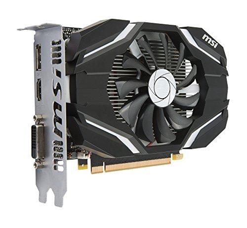 Amazon.com: MSI Gaming GeForce GTX 1050 Ti 4GB GDRR5 128-bit HDCP Support  DirectX 12 Single Fan OC Graphics Card (GTX 1050 TI 4G OC): Computers & ...