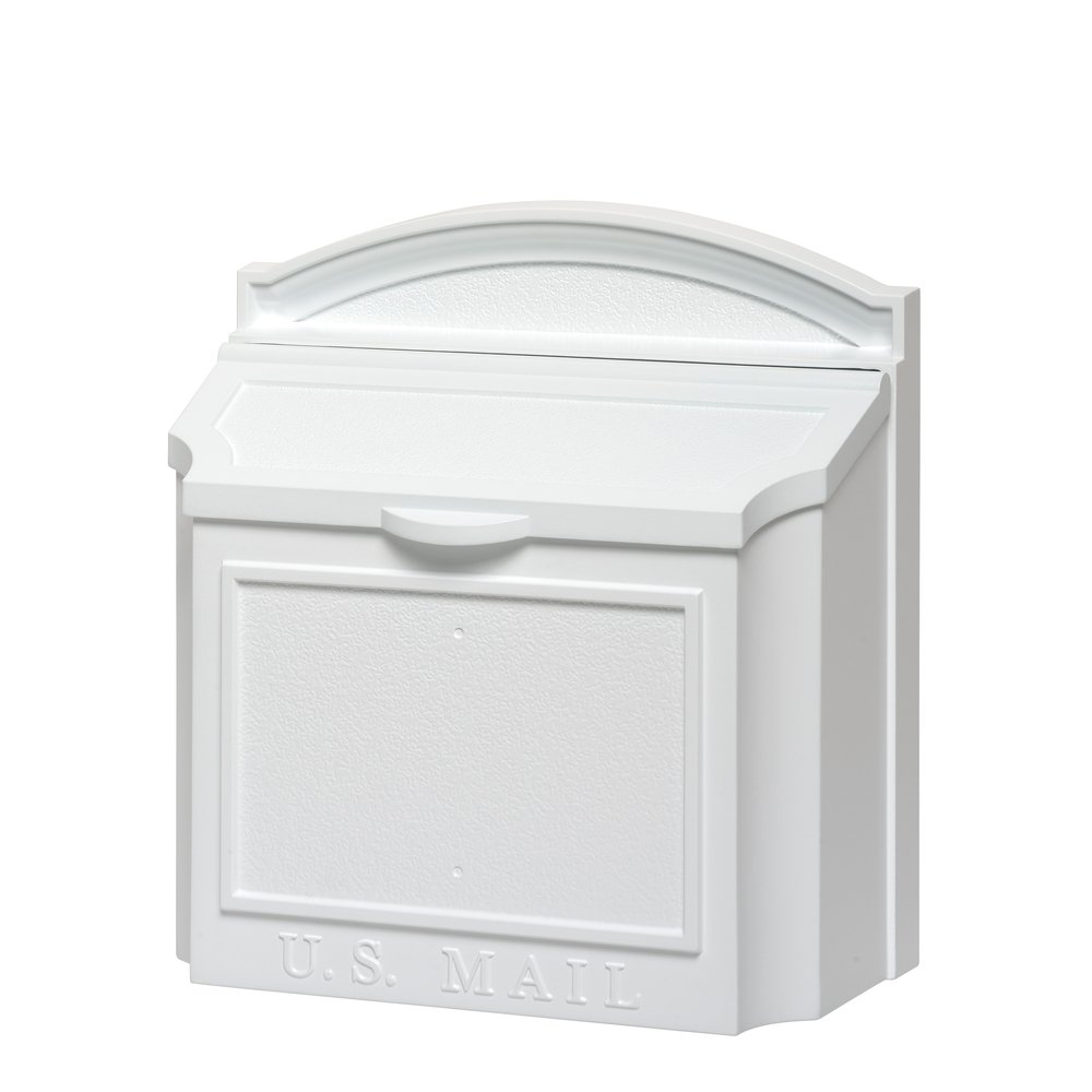 Whitehall Products 16139 Wall Mailbox, White M324840