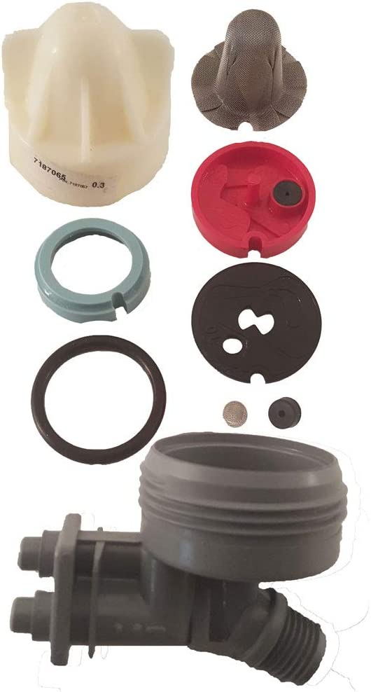 7238450 Fits most major brands Nozzle and Venturi Kit with Clips and O-rings