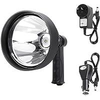 LIGHTFOX 15W CREE T6 Handheld Spot Light Rechargeable LED Spotlight Hunting Shooting 12V 1 Year Warranty