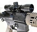 Trinity 4x32 Compact Rifle Scope w/ Ring Mounts Fits Tippmann TMC Upgrades.
