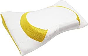 ZAMULO Orthopedic Memory Foam Cervical 4D Contour Pillow for Neck and Shoulder Pain,Orthopedic Memory Foam Pillow Ergonomic Bed Pillow for Side Sleepers Back Sleepers, Neck Support Pillow Hypoallergen