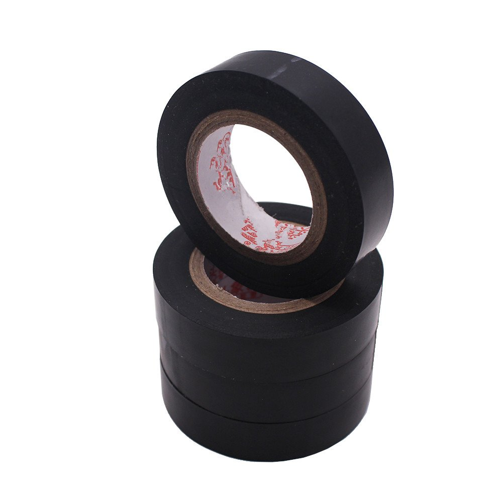 Door Black Electrical Tapeinsulating Tapedurable Pvc Material Insulation Wire Tape With Certificate Of Materialwaterproof Vinyl Insulating