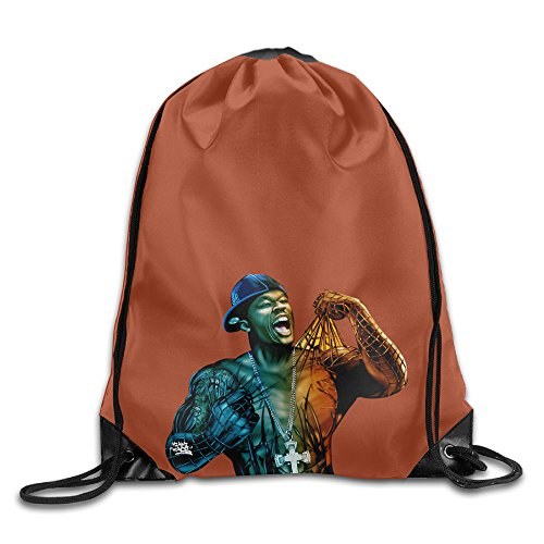 AGMPO 50 Cent Drawstring Backpacks Sack Bags