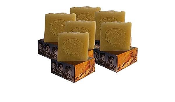 6 x CARIA Burbujeante PURE and SIMPLE Barra de jabón (piel sensible) Sin perfume Hecho a mano natural con oliva y aceite de coco 660g: Amazon.es: Belleza