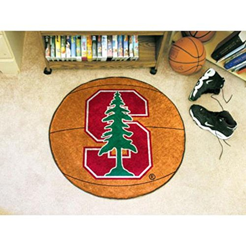 Fanmats Sports Team Logo Design Stanford University Basketball (Stanford Basketball Rugs)