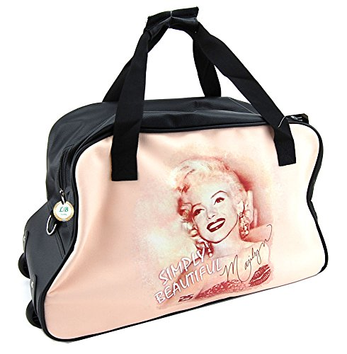 Marilyn Monroe - Rolling Duffel Bag (Marilyn Monroe Luggage)