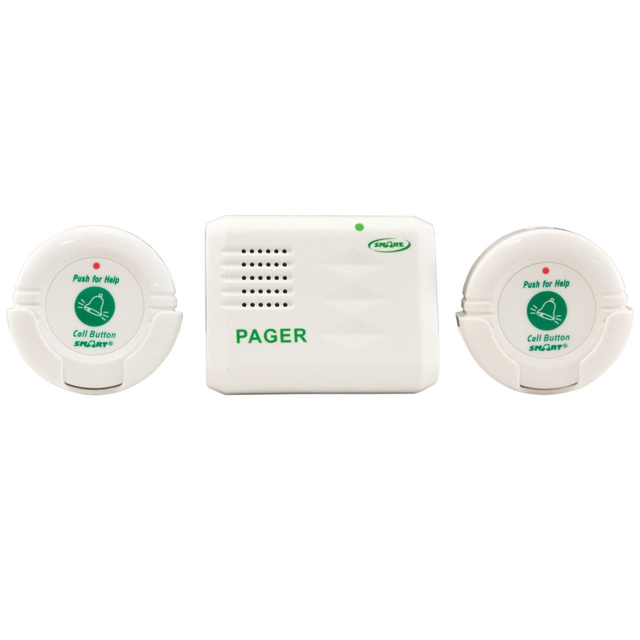 Personal Paging System - 2 Call Button and 1 Pager by Smart Caregiver