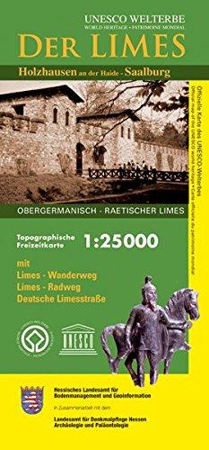 Topographische Sonderkarten Hessen (amtlich) - 1:25000 (TF 25). Sonderblattschnitte auf der Grundlage der Topographischen Karte 1:25000 mit ... Offizielle Karte des UNESCO-Welterbes