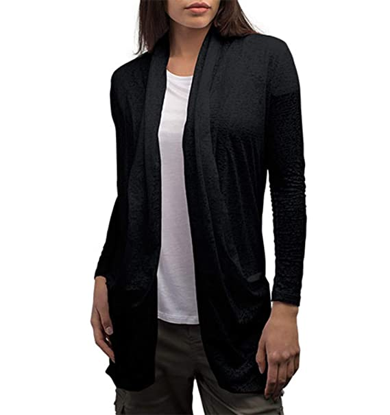 SCOTTeVEST Lucille Cardigan - 4 Pockets - Travel Clothing, Sweater