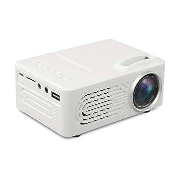 ZYN-RN Proyector HD Proyector de Video Cine en casa LCD Soporte ...