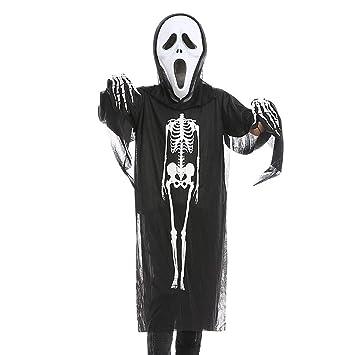 Halloween Kinderhandschuhe Knochen Party Horror Grusel Dekoration Kinder Geist