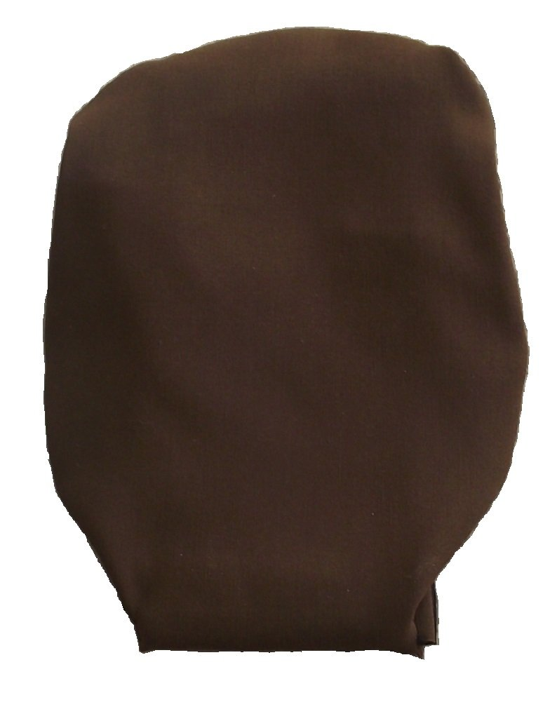Drainable Stoma Cover Ostomy Bag Cover Bengaline Chocolate Brown