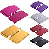 #9: Nintendo 3DS Case - Aluminium Protective Hard Shell Skin Case Cover for New Nintendo 3DS LL XL