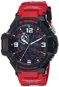 Casio G-Shock Red Gravity Defier Ga1000-4B Watch