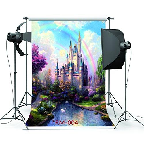 5x7ft Dream Castle Photo Backdrops Customized Studio Background Studio Props RM-004