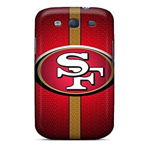 High Grade WWOStore Flexible Tpu Case For Galaxy S3 - San Francisco 49ers