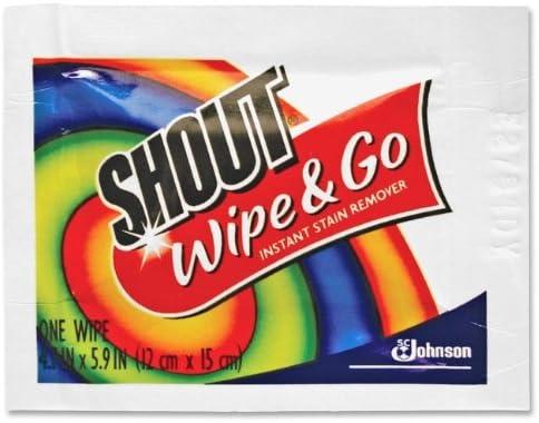 Johnson Diversey Wipe & Go quitamanchas instantáneo, 6 x 6, 80 ...
