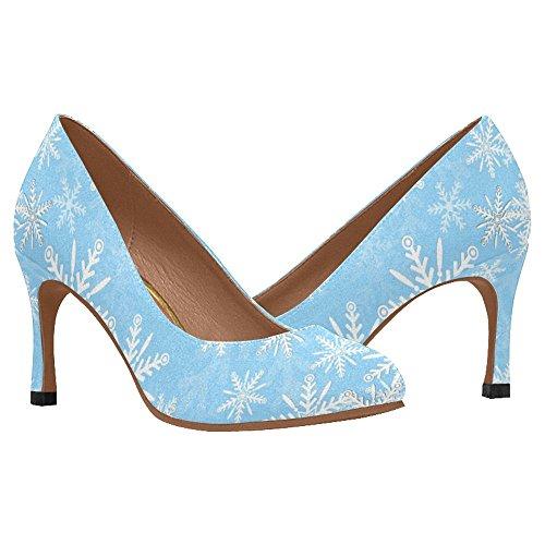 InterestPrint Womens Classic Fashion High Heel Dress Pump Shoes Multi 1 qnjokqiHB
