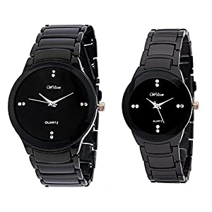 Wilton Women's Smart Analogue Couple Watches (Black Dial)