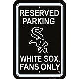 Fremont Die MLB Chicago White Sox Plastic Parking Sign