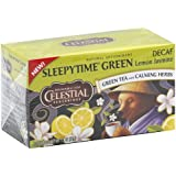 Sleepytime Decaf Lemon Jasmine Green Tea by Celestial Seasonings - 1 Box