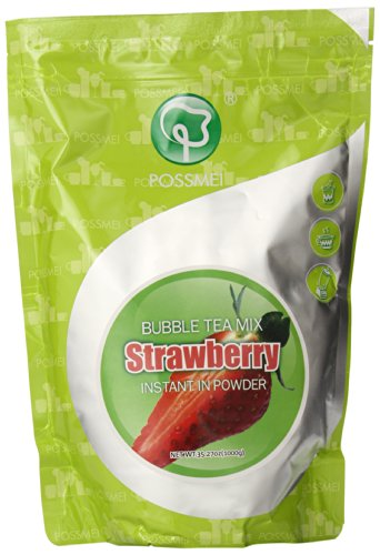 Possmei Bubble Instant Powder Strawberry product image
