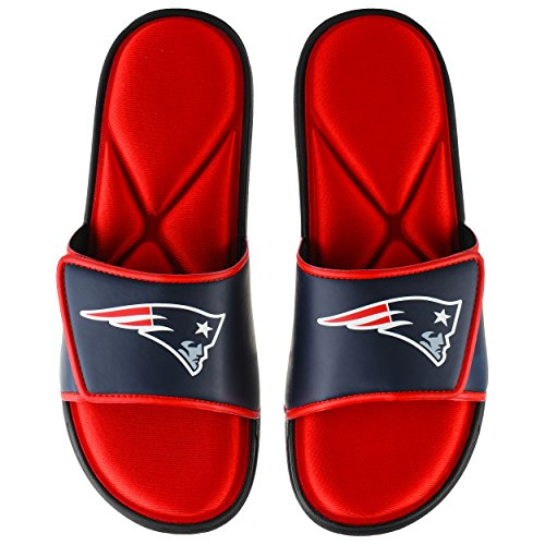 New England Patriots NFL Mens Foam Sport Slide - S