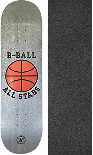 ステレオスケートボードb-ball All Stars HeatherスケートボードDeck – 8.25