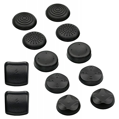 Snakebyte Snakebyte Analog Controller Caps PS3 - Cups for your Playstation 3 Gamepad Analog Sticks - 5 Pairs - BONUS: L2 + R2 shoulder button caps - PlayStation 3;