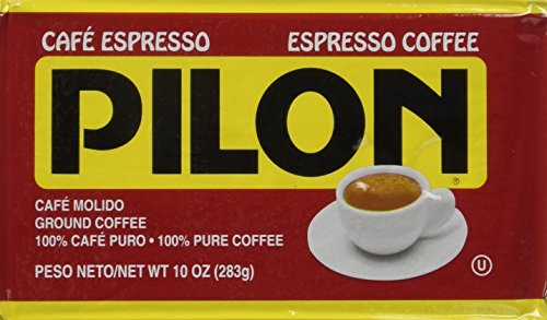 Pilon Espresso 100   Arabica Coffee  10 Ounce Bricks  Pack Of 4