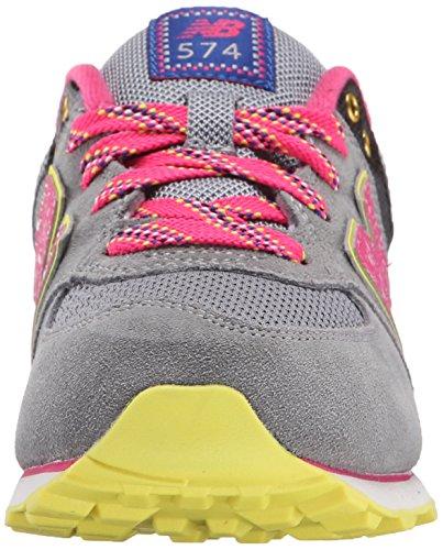 New Balance - KL574O6G - KL574O6G - Farbe: Grau-Rosa - Größe: 39.0