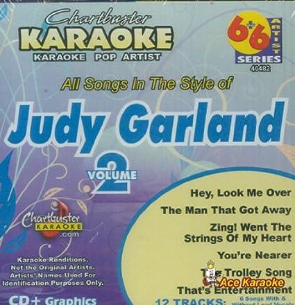 Amazon com: Chartbuster Karaoke 6X6 CDG CB40482 - Judy