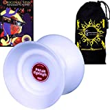 Duncan PANDAMONIUM Jumbo Butterfly Shape Offstring Yoyo - Supreme Quality Large Yo Yo For 4A Tricks + Original Spin DVD + Travel Bag! Ideal Yo-Yo for Competitions All Ages