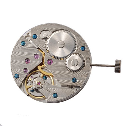 Jewel Movement (17 Jewels 6497 Mechanical Hand Winding Men's Classic Vintage Watch Movement)