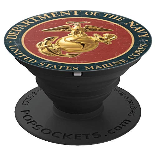 Original Eagle Globe Anchor Combat Warrior Veteran - PopSockets Grip and Stand for Phones and Tablets